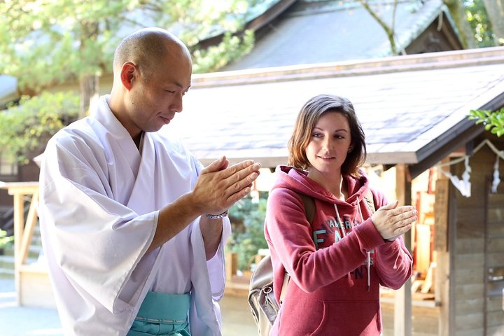 Discover Shintoism at Traditional Shinto Shrine in Japan