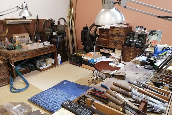 Visiting Japanese Traditional Handicraft Studio in Tokyo Virtual Experience